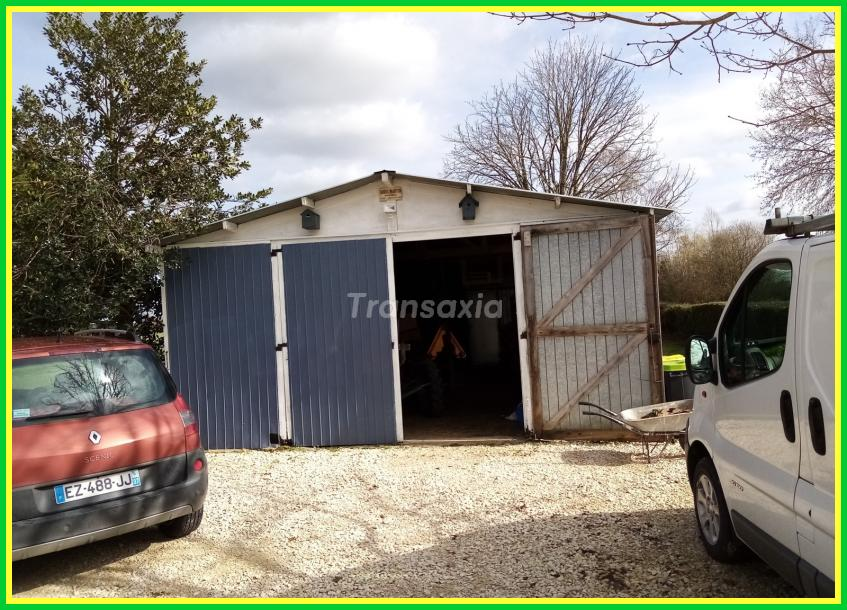 plaisant pavillon sur 2 ha