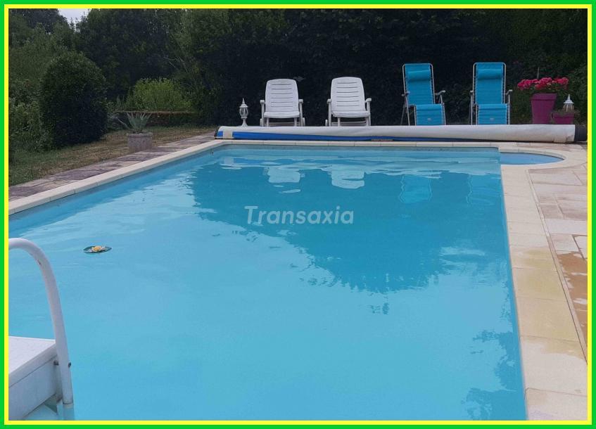 5 ch + piscine 13 mns gueret