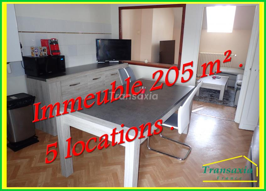 IMMEUBLE  205m². 5 locations