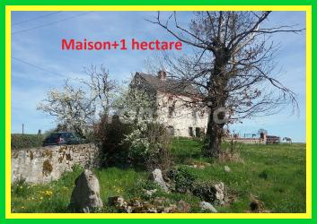 Maison + 2 granges+1 hectare