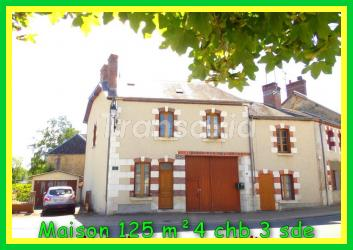 2H PARIS  Maison 125m² 4ch-Dép
