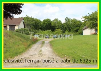 Terrain 6325 m2 en exclusivité