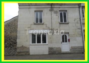 A 5 mn d'Azay le Rideau jolie maison de bourg restaurée