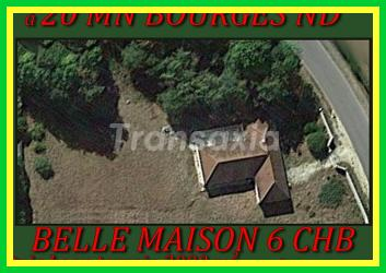 20 mn BOURGES  6CH 3300m²