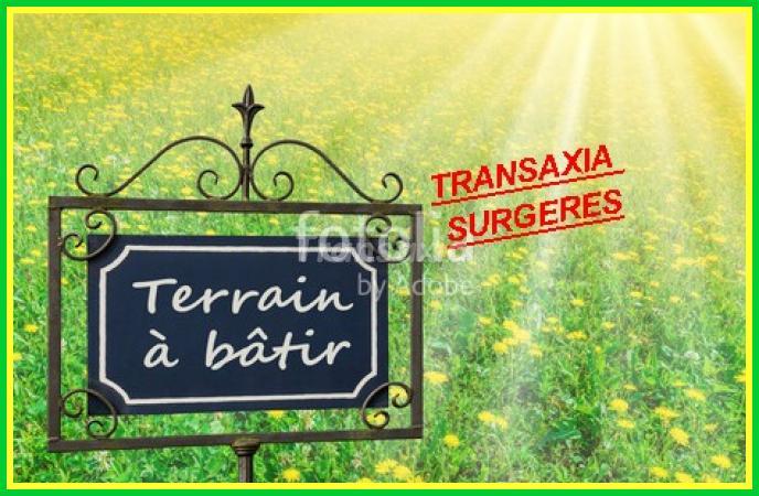 TERRAIN A BÂTIR 497m2