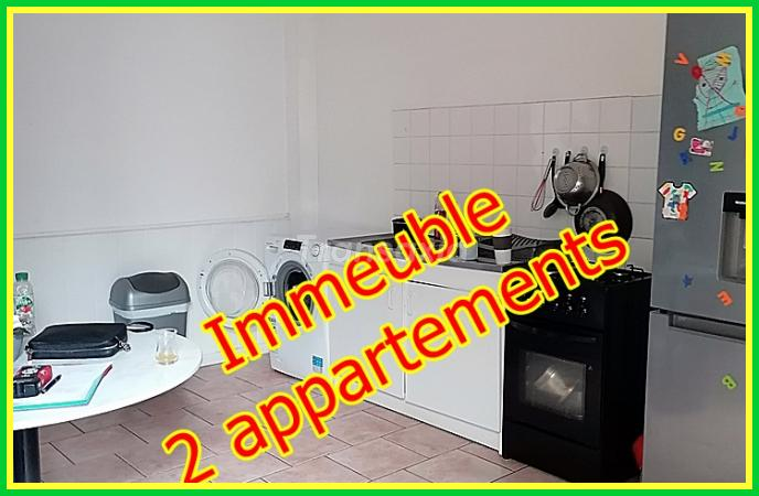 IMMEUBLE 2 APPARTEMENTS